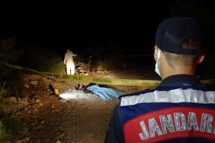 İzmir Bornova'da ormanlık alanda ceset bulundu