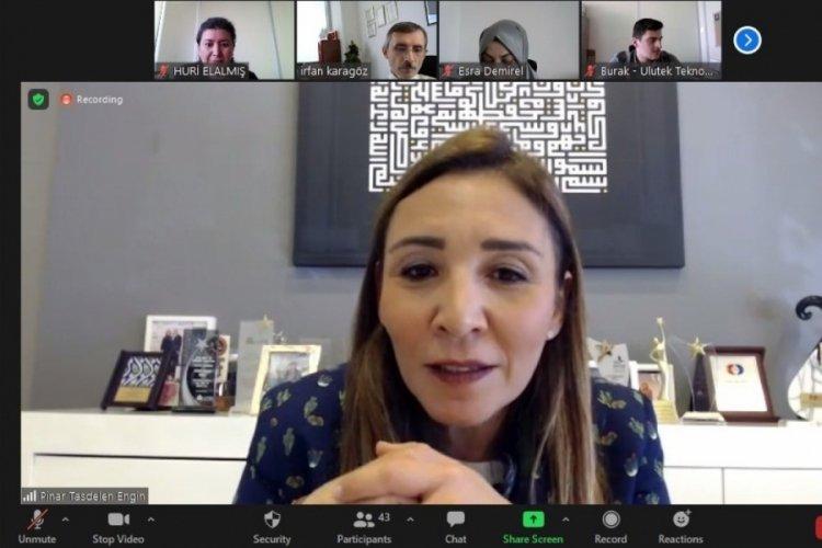 UTİB Başkanı Pınar Taşdelen Engin: Techxtile platform artık sürekli yaşayan bir ekosistem