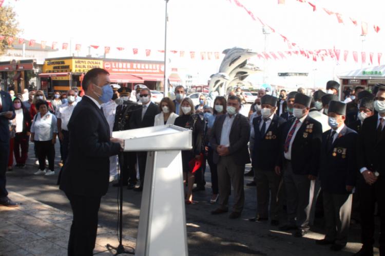Bursa'da Mudanya'nın işgalden kurtuluşunun 99. yıl dönümü kutlandı