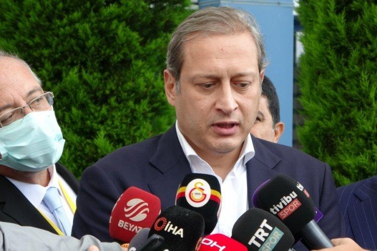 """Burak Elmas'tan açıklama: """"Fatih Terim'in Milli Takıma gitmesine izin vermeyiz"""""""
