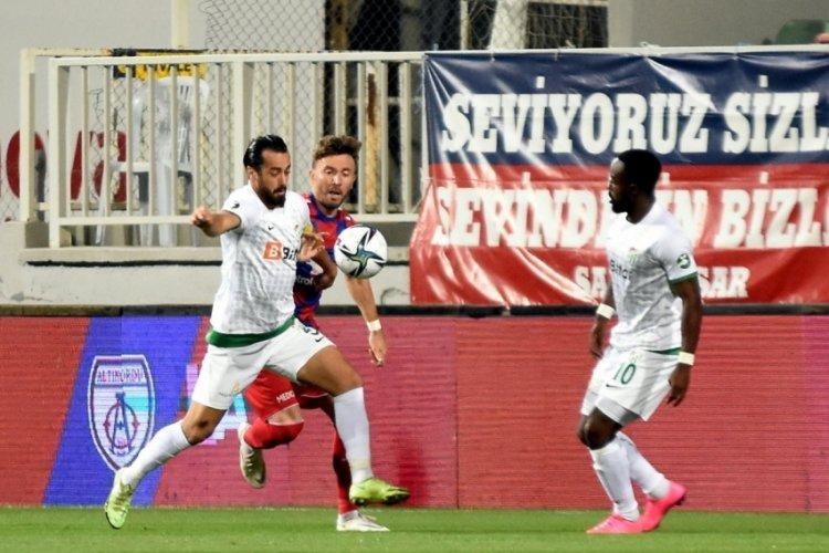 Bursaspor, Altınordu'ya 2-1 yenildi
