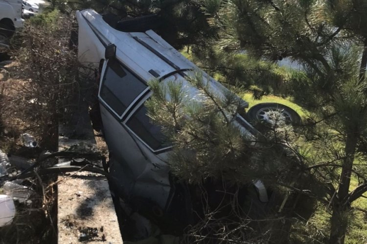 Kırıkkale'de korkunç kaza: 3 yaralı
