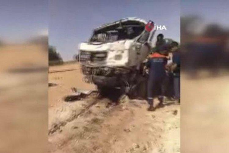 Cezayir'de katliam gibi kaza: 18 kişi öldü