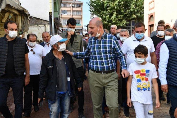 İçişleri Bakanı Soylu: Selde kaybolan 15 vatandaşımız 459 personelle aranıyor