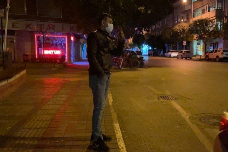 Bursa'da alkollü ve ehliyetsiz yakalandı, evine yaya olarak gitti