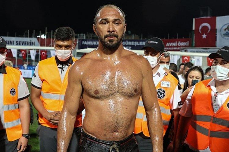 Ali Gürbüz, Merkezefendi Yağlı Güreşleri'nin başpehlivanı!