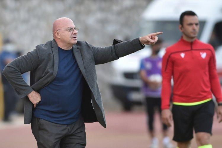 İnegölspor Teknik Direktörü Hasan Erkin Şimşir: 90.dakikaya kadar oynayan bizdik!