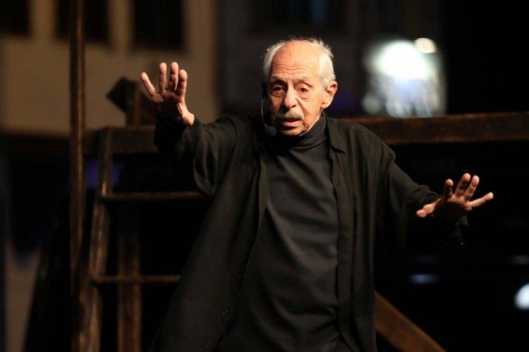 Usta oyuncu Genco Erkal, Kurtuluş Gününde Bursa Mudanya'daydı