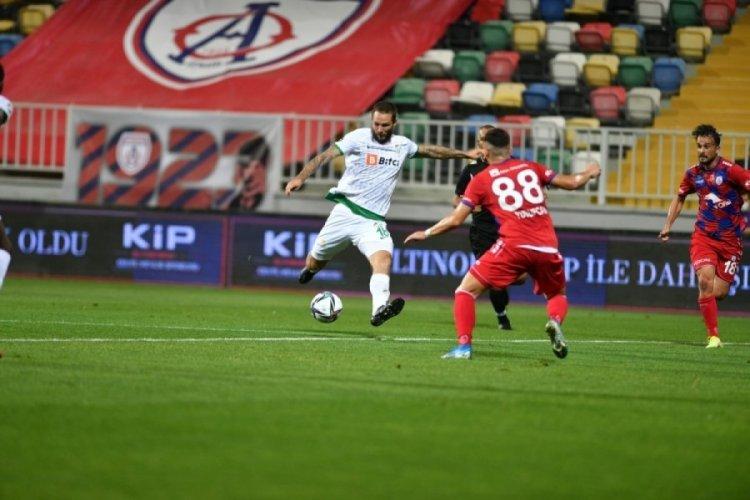 Bursaspor 20 yıl sonra kötü başlangıcı yaptı!