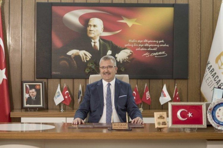 Bursa Karacabey Belediye Başkanı Özkan'dan kurtuluş günü mesajı