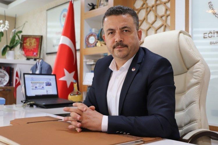 """Eğitim-Bir-Sen Bursa 1 Nolu Şube Başkanı Acar: """"Milli Eğitim Bakanlığı bu yanlıştan dönmeli"""""""
