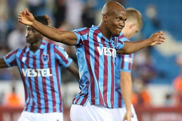 Trabzonspor'da Nwakeme durdurulamıyor!