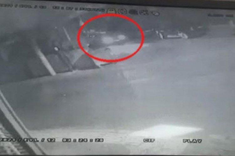 İzmir Buca'da taksi şoförünün öldüğü kaza kamerada