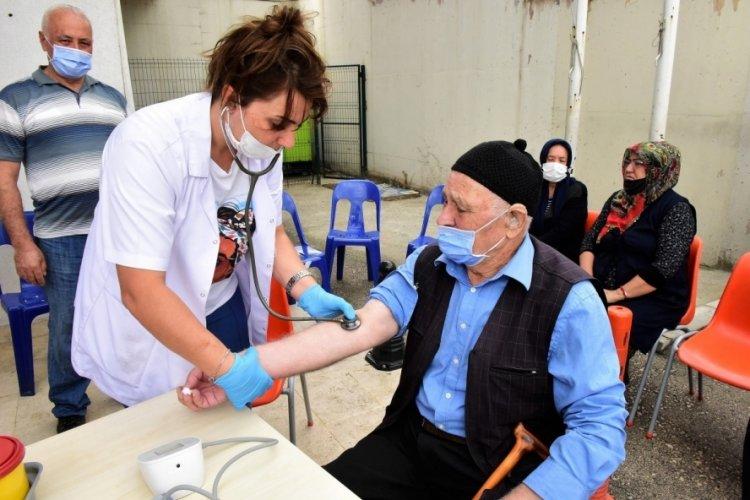 Bursa'da 69 mahalle muhtarlığında sağlık taraması