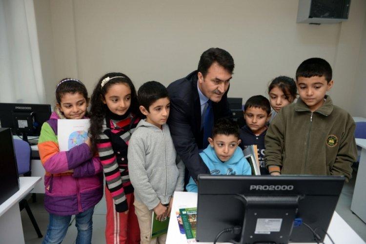 Bursa Osmangazi'de parklar çocuklara emanet