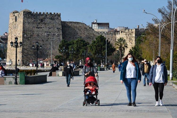 Sinop'ta vakalar 2 katına çıktı