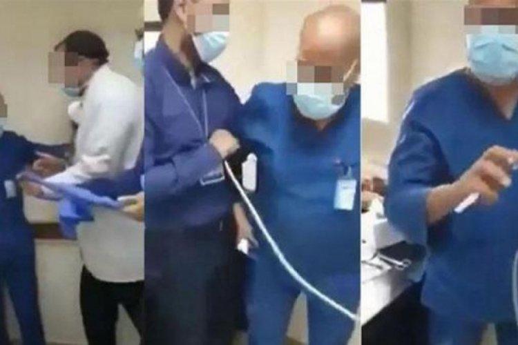 Köpeğine secde edilmesini isteyen doktor gözaltına alındı