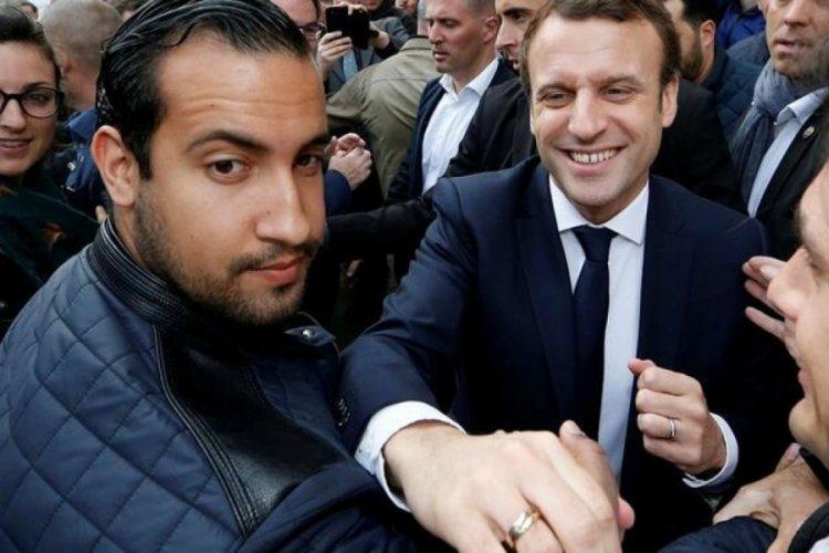 Macron'un  eski Özel Kalem Müdür Yardımcısı Alexandre Benalla hakim karşısında