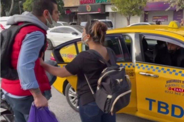 İstanbul'da taksi şoförüne kısa mesafe cezası