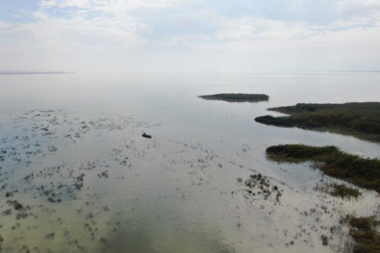 Bursa Uluabat Gölü yok olma tehlikesi ile karşı karşıya