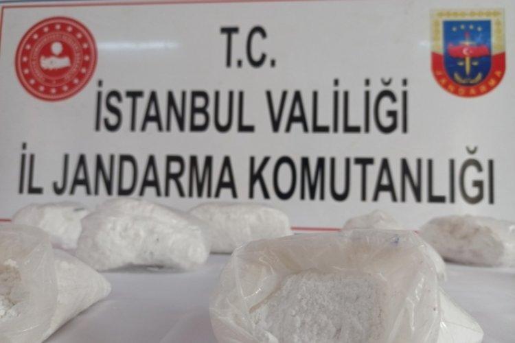 İstanbul Bağcılar'da kokaini hava kompresörünün içine saklamışlar!