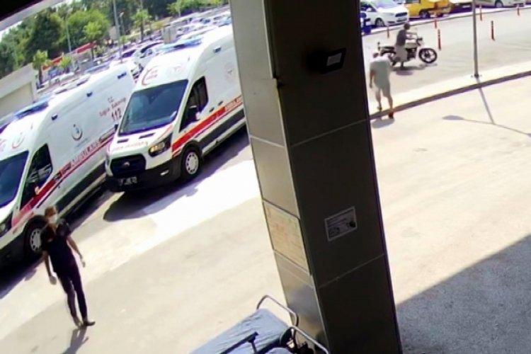 Adana'da motosiklet çalan şahıs yakalanınca 'aşı olmaya geldim' dedi