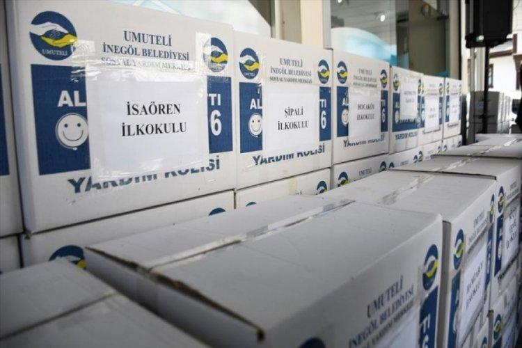 Bursa İnegöl Belediyesi'nden 1500 öğrenciye kırtasiye yardımı