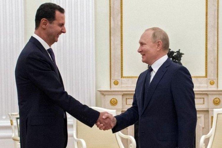 Esad ile Putin, Rusya'da bir araya geldi! Görüşmenin ana konusu Suriye'deki yabancılar