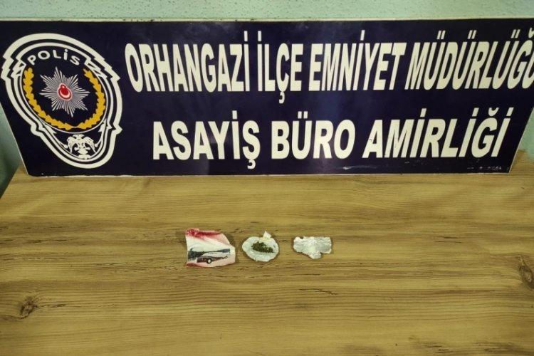 Bursa'nın Orhangazi ilçesinde uyuşturucu operasyonu!