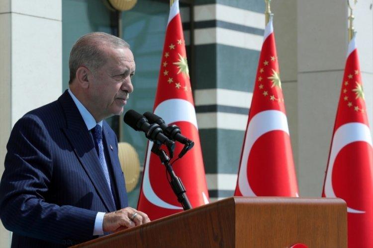 Cumhurbaşkanı Erdoğan: Salgın öncesi dönemin üzerine çıktık