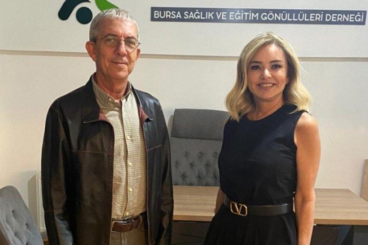 BUSADER, Bursa'nın tanınmış üroloğu Prof. Dr. Oktay'ı ağırladı!