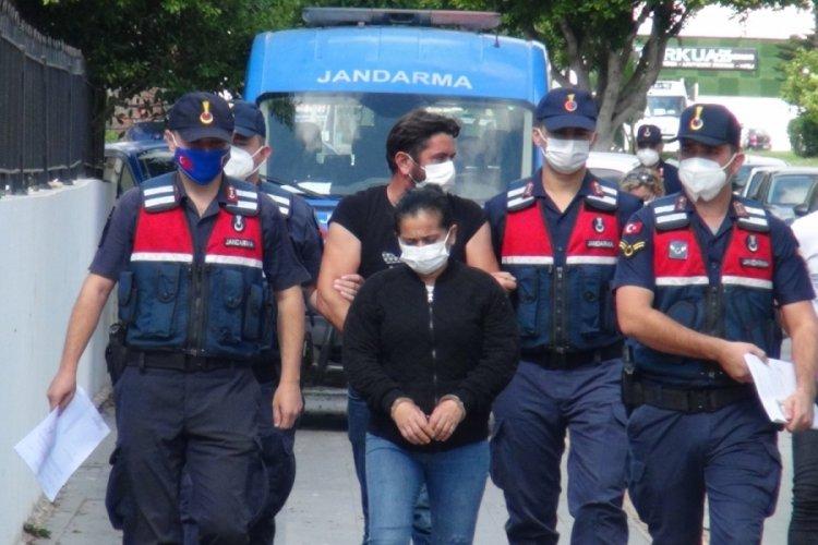 Antalya'da poşette tabancalarla yakalanan 2 şüpheli adliyede!