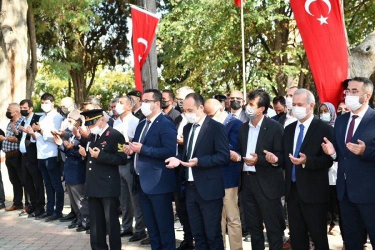 Bursa'da Mustafakemalpaşa'nın Kurtuluşunun 99. yılı kutlandı