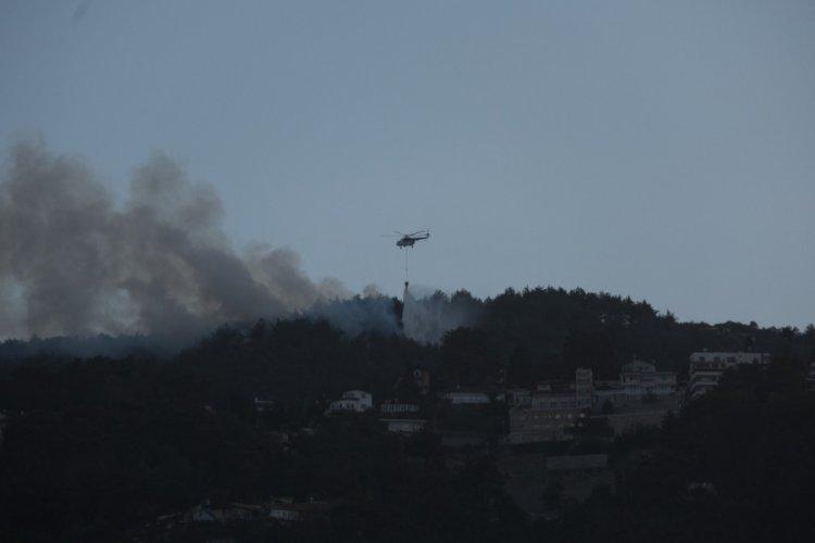 Hatay Belen'deki orman yangını kontrol altına alındı