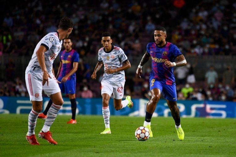 Bayern Münih Barcelona karşısında üstünlük sağladı