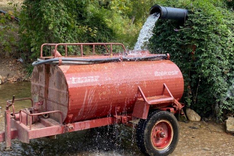 Bursa'nın Çataltepe Mahallesi'nde su sıkıntısı var! (ÖZEL HABER)