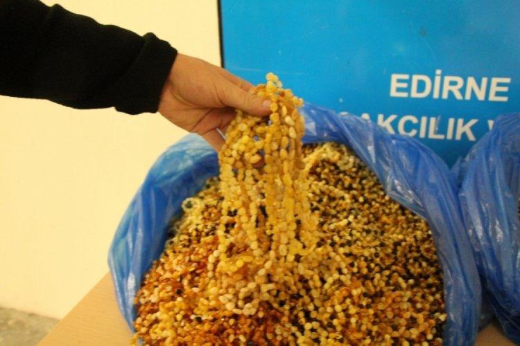 Edirne Kapıkule'de 2 milyon TL değerinde kaçak malzeme yakalandı