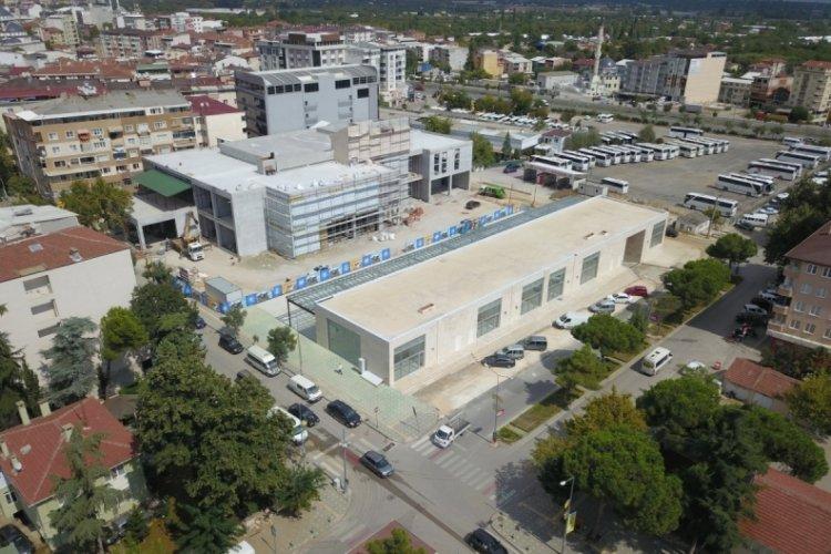 Bursa'da kültür merkezinde çalışmalar hızlandı