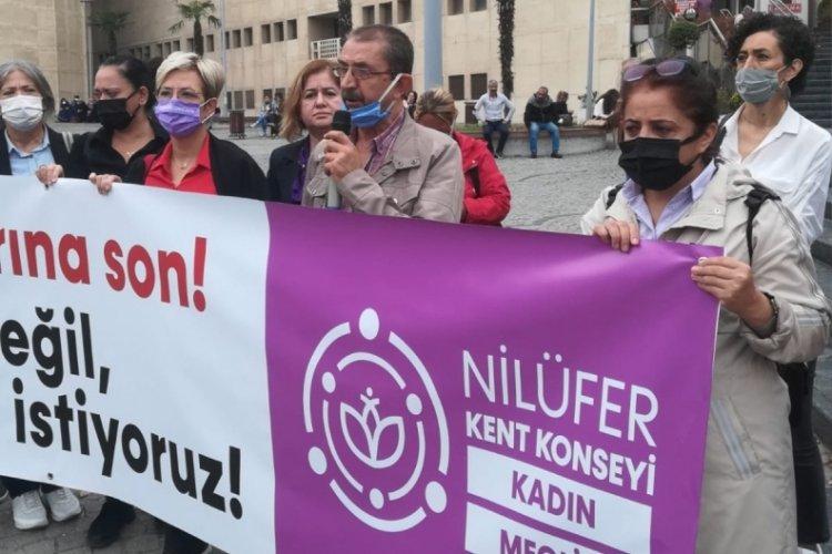 Nilüfer Kent Konseyi Kadın Meclisi, Bursa Adliyesi önünde adalet arayışında!