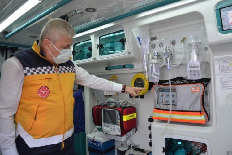 Bursa'da bir yılda 6 yeni Acil Sağlık Hizmetleri İstasyonu açıldı