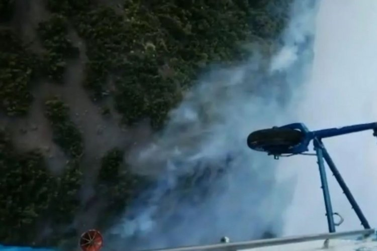 Tunceli'deki örtü yangınının bir bölümü kontrol altına alındı