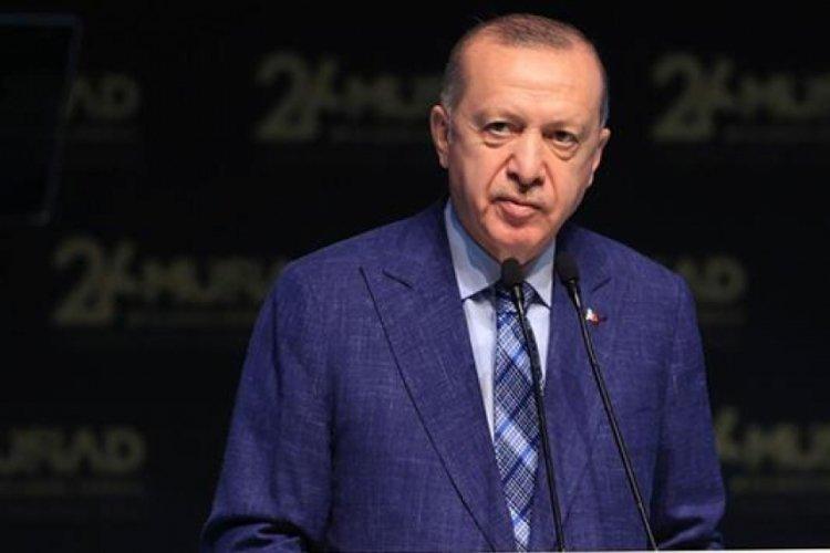 Cumhurbaşkanı Erdoğan, Bakü'nün işgalden kurtuluşunu mesaj yayımlayarak kutladı