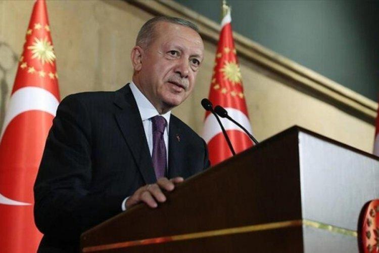 Cumhurbaşkanı Recep Tayyip Erdoğan'dan, Volkan Bozkır'a kutlama