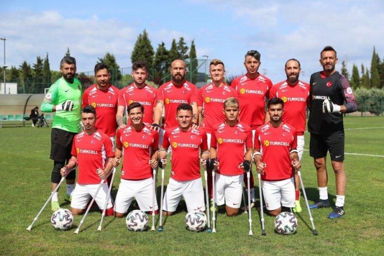 Ampute Milli Futbol Takımı, İtalya'yı yenerek çeyrek finale yükseldi