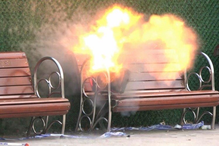 Kocaeli'de durağa bırakılan şüpheli çanta bomba paniği yaşattı
