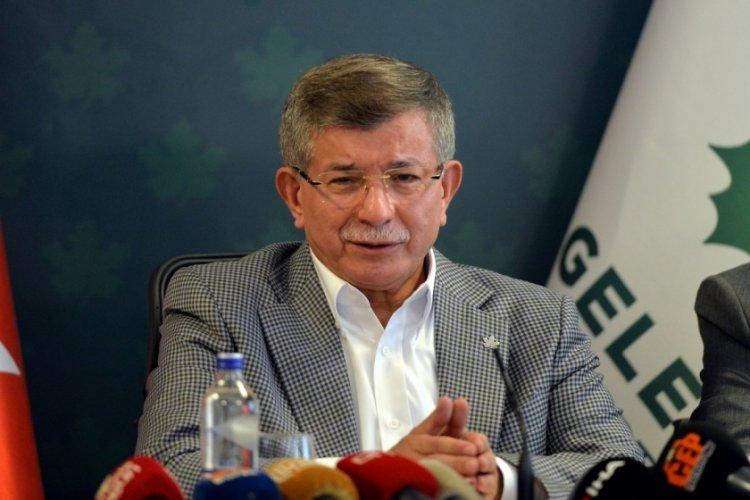 Gelecek Partisi lideri Davutoğlu: Erdoğan'dan teklif gelirse görüşürüm