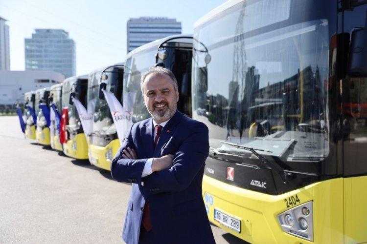 Bursa Büyükşehir Belediyesi ulaşımda 271 yeni otobüs kazandırdı