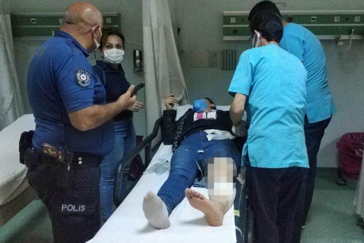 İşten çıkıp evine dönen kadın sokak kavgasında vuruldu