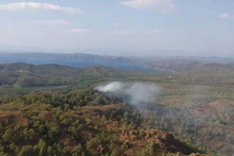 Muğla Marmaris'te orman yangını meydana geldi