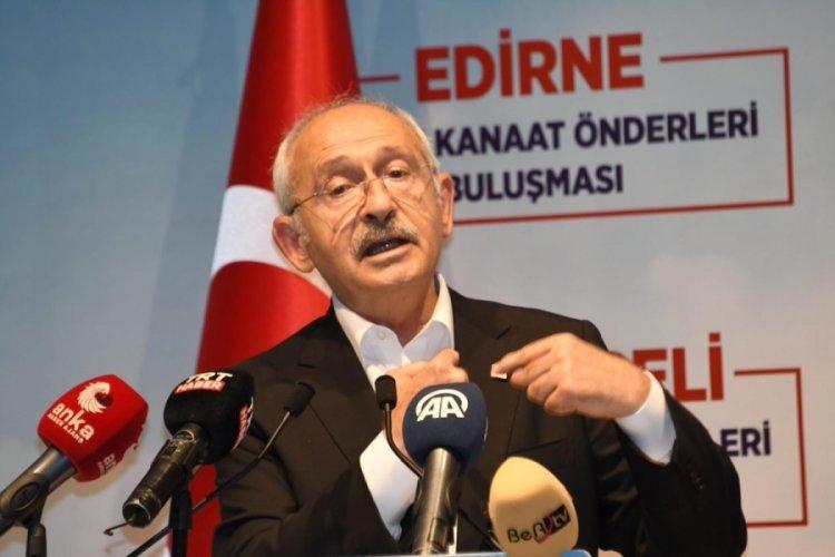 CHP Genel Başkanı Kılıçdaroğlu: 2 yıl içinde tüm sığınmacıları davul ve zurnayla memleketlerine göndereceğim